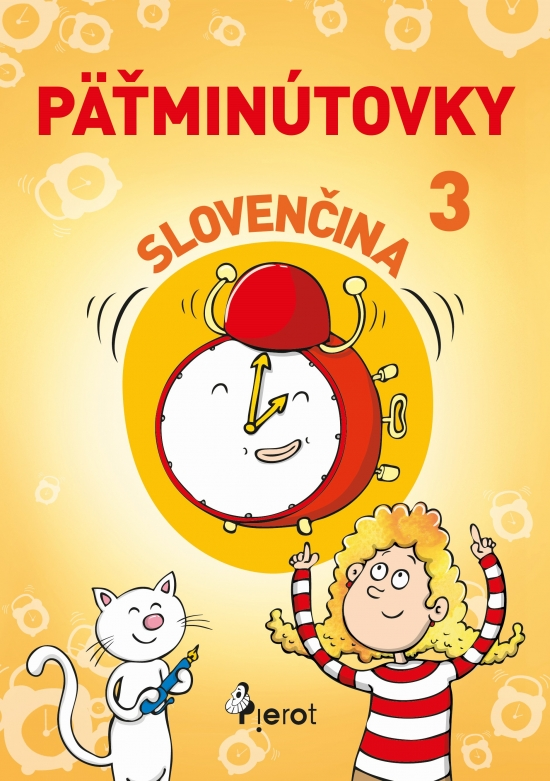 Pätminútovky slovenčina 3.ročník ZŠ (nov.vyd.) - Mgr. Jana Hirková,