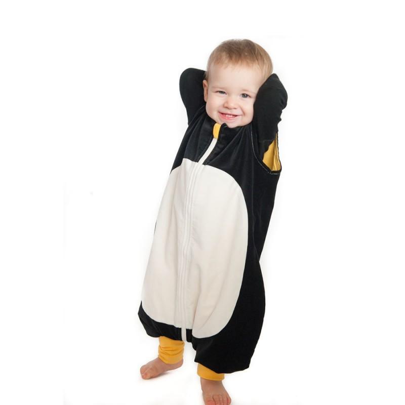 PENGUINBAG - Detský spací vak Penguin, veľkosť S (74-96 cm), 2,5 tog