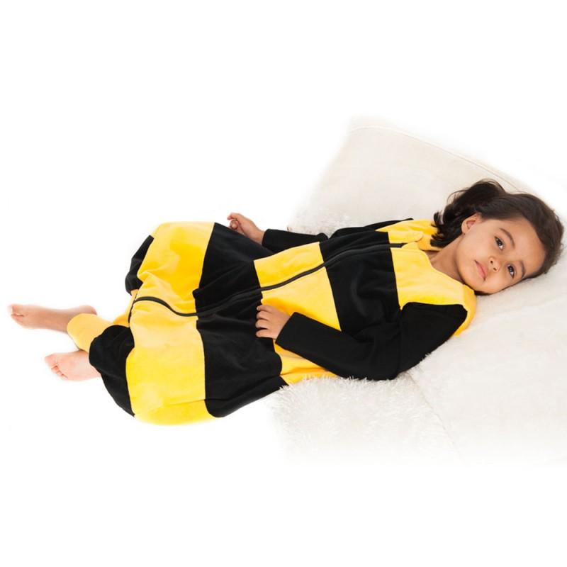 PENGUINBAG - Detský spací vak včielka, veľkosť L (87-110 cm), 1 tog