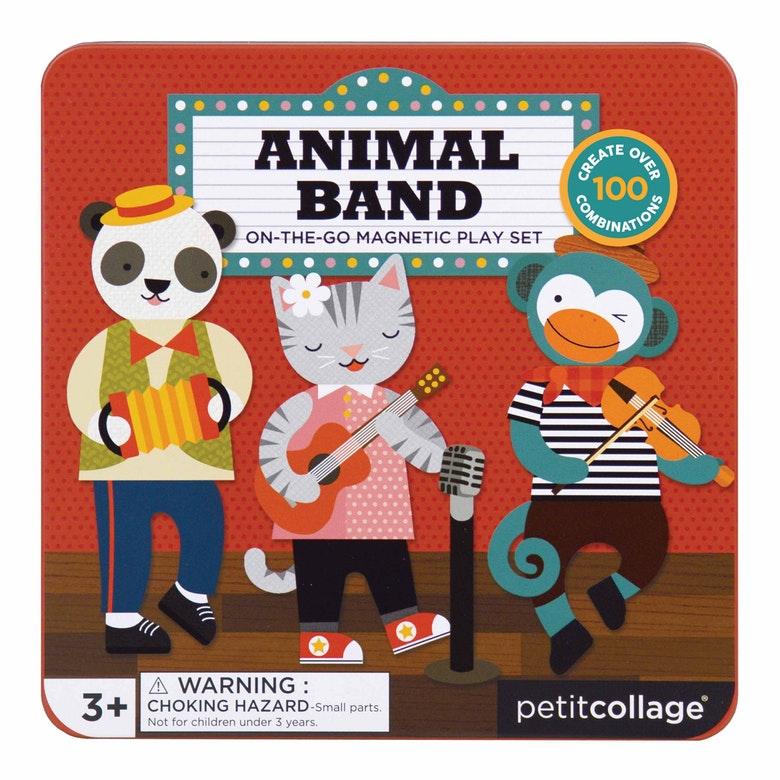 PETIT COLLAGE - Magnetická kniha Zvieratá