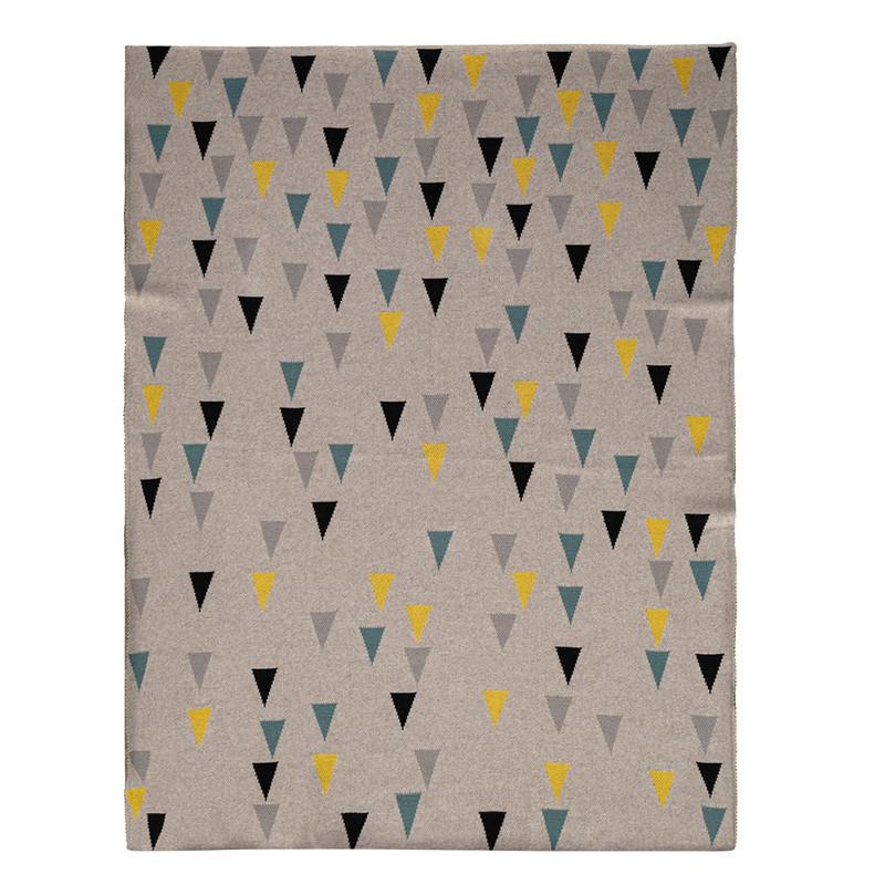 PETITE&MARS - Deka Harmony Happy Triangles 100% bavlna 80x100 cm