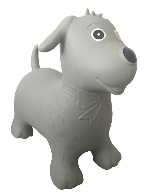 PETITE&MARS - Zvieratko skákacie Hop Hop psík Max + pumpa