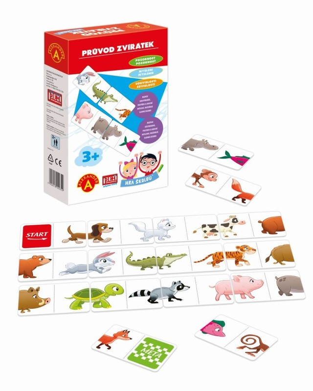 PEXI - Hra školou - zvieratká