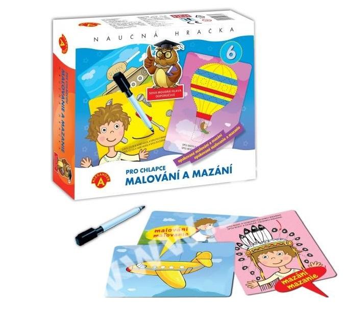 PEXI - Maľovanie a mazanie pre chlapcov - náučná hračka