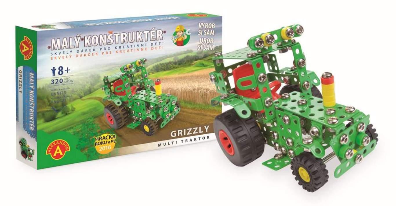 PEXI - Stavebnica kovová - traktor