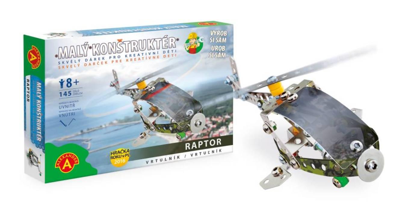 PEXI - Stavebnica kovová- vrtulník