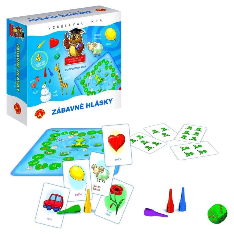 PEXI - Zábavné hlásky - vzdelávacia hra