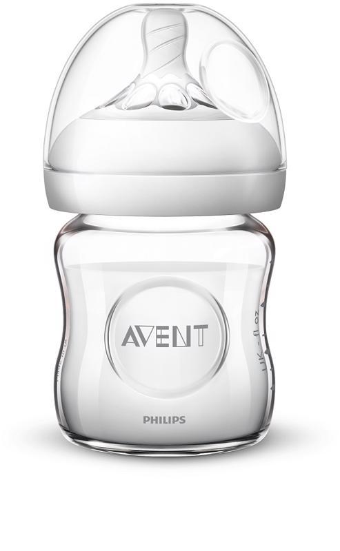 PHILIPS AVENT - Avent fľaša 120ml Natural.2 SKLO