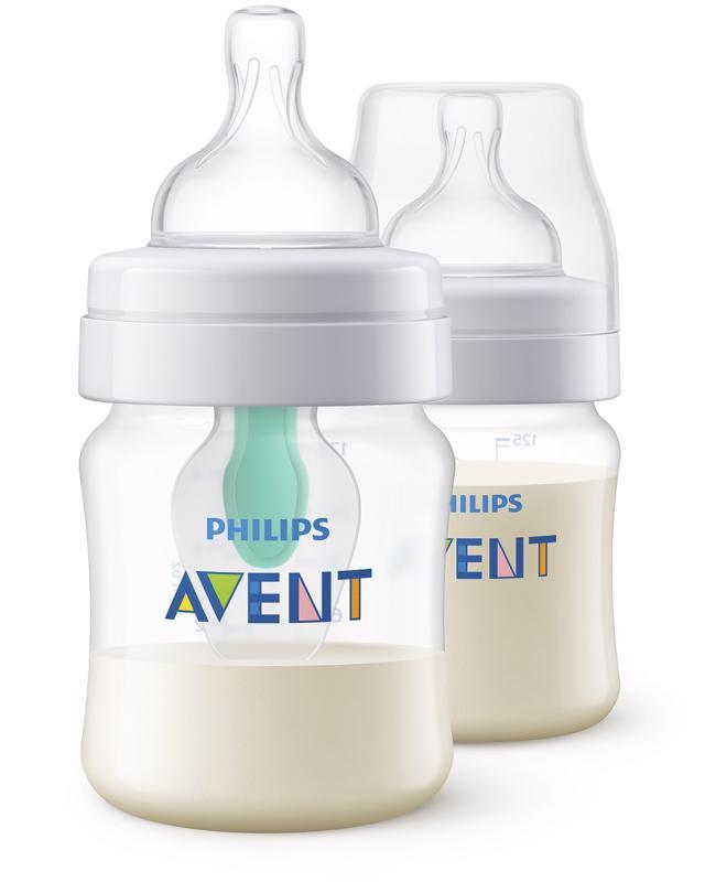 PHILIPS AVENT - Avent fľaša 125ml AirFree 2ks