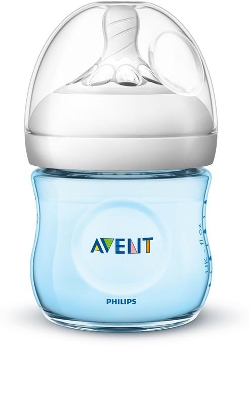 PHILIPS AVENT - Avent fľaša 125ml Natural.2 PP modrá
