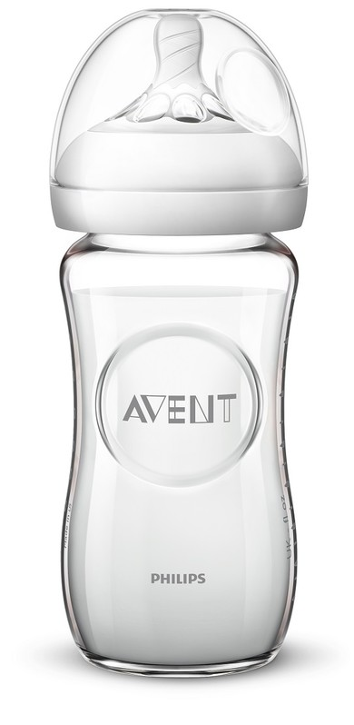 PHILIPS AVENT - Avent fľaša 240ml Natural.2 SKLO