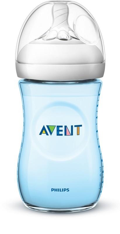PHILIPS AVENT - Avent fľaša 260ml Natural.2 PP modrá