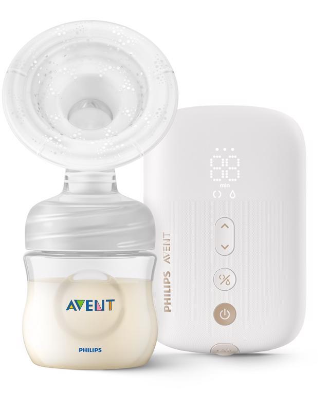PHILIPS AVENT - Avent odsávačka materského mlieka elektrická nabíjacia SCF396