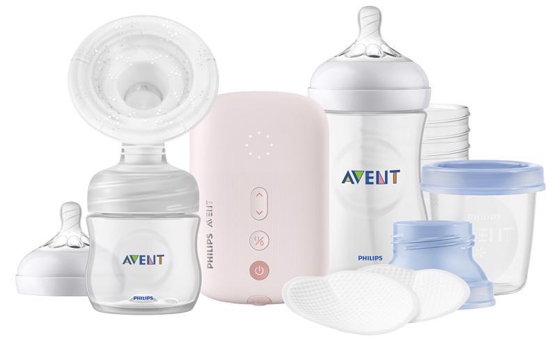PHILIPS AVENT - Avent odsávačka materského mlieka elektrická sada na podporu dojčenia
