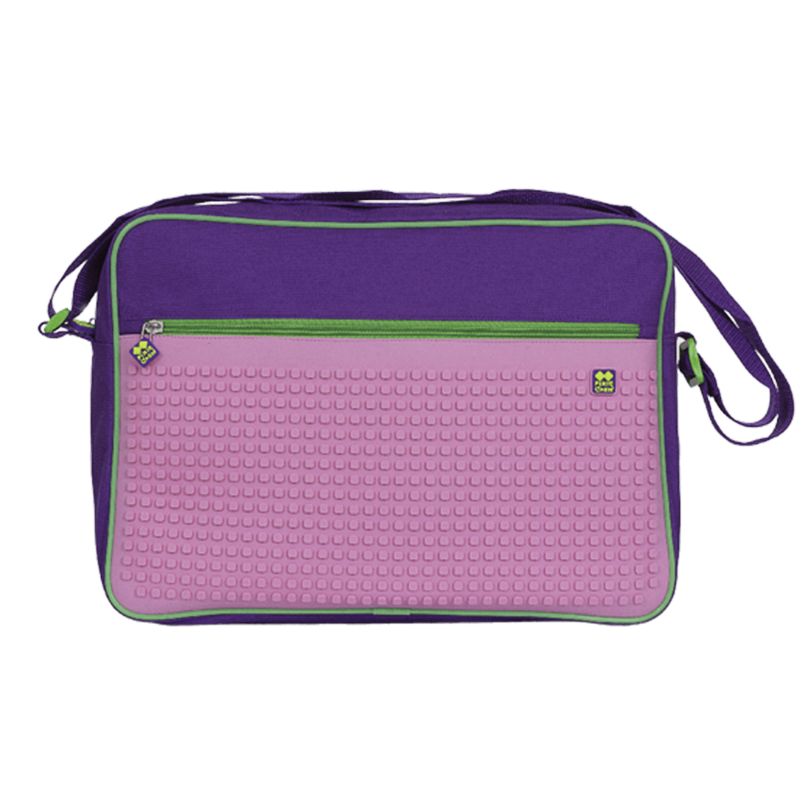 PIXIE CREW - Kreatívna taška cez rameno fialové / RUŽOVÁ
