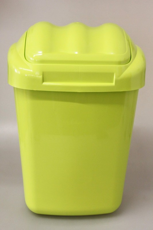 PLAFOR - Plastový odpadkový kôš Fala 30 l - zelený