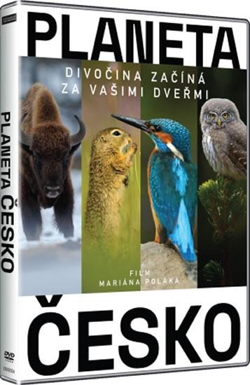 Planeta Česko - Divočina začíná za vašimi dveřmi - DVD