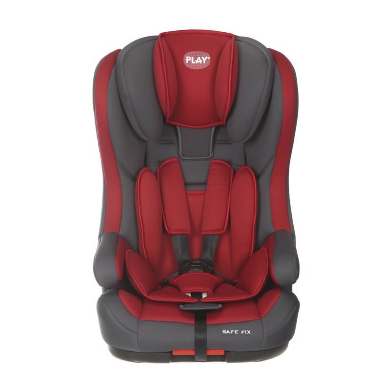 Play - Autosedačka Safe Fix 9-36 kg (2017) - Grey/Red
