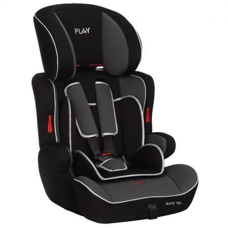 PLAY - Autosedačka Safe Ten 9-36 kg - Grey/balck 2015