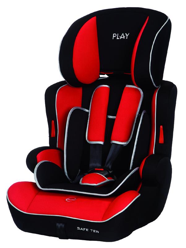 PLAY - Autosedačka Safe Ten 9-36 kg - Red/black, 2015
