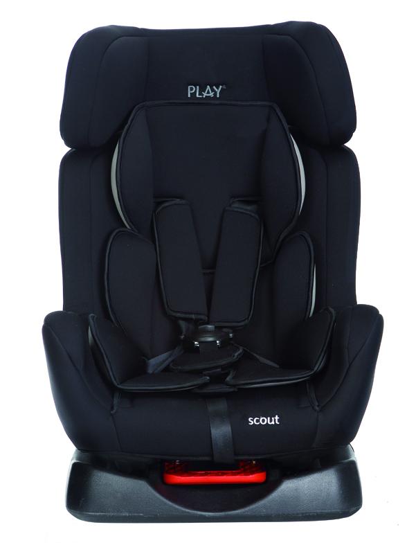 PLAY - Autosedačka Scout, 0-25 kg - Black, 2015
