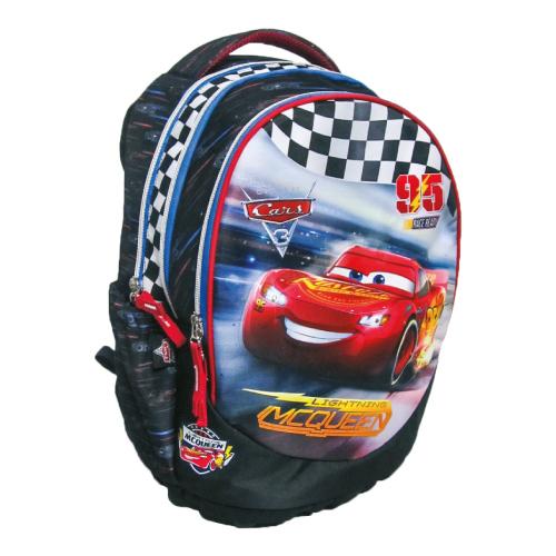 PLAY BAG - Batoh školský Cars Race anatomický