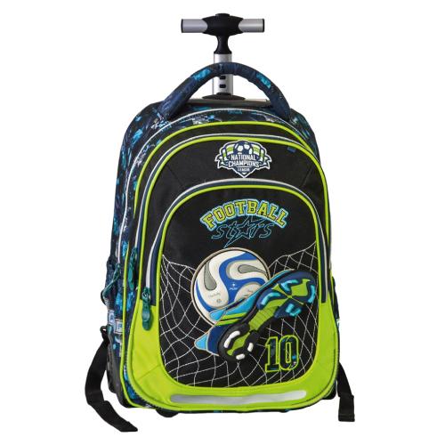PLAY BAG - Školský batoh na kolieskach Trolley Play, football