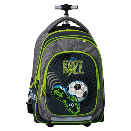 PLAY BAG - Školský batoh na kolieskach Trolley Play, Football Champions