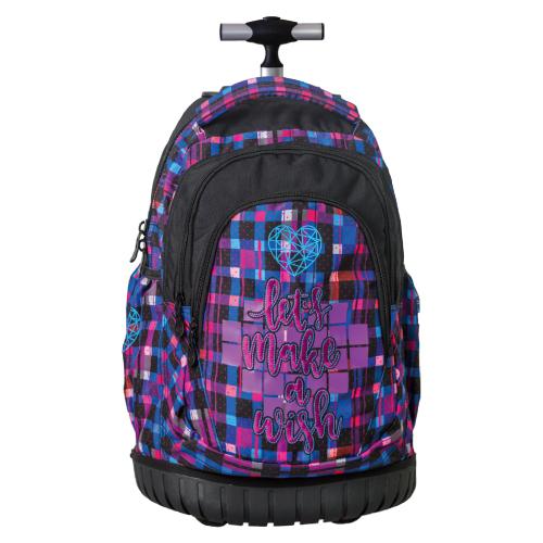 PLAY BAG - Školský batoh na kolieskach Trolley Play, Imaw