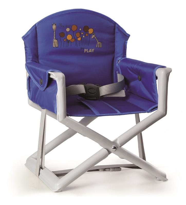 PLAY - Stolička na kŕmenie Play Dire - Azul, 2015