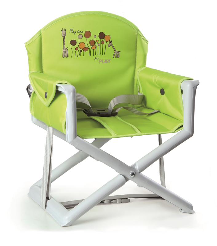 PLAY - Stolička na kŕmenie Play Dire - Verde, 2015