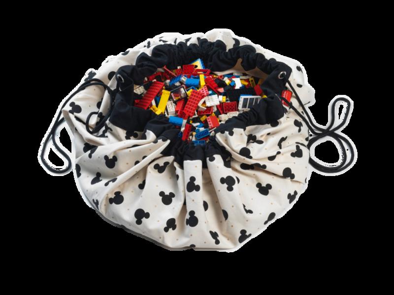 PLAY&GO - Vak na hračky Mickey Black