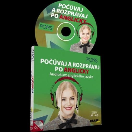 Počúvaj a rozprávaj po anglicky -audiokurz anglického jazyka-CD - Kolektív autorov