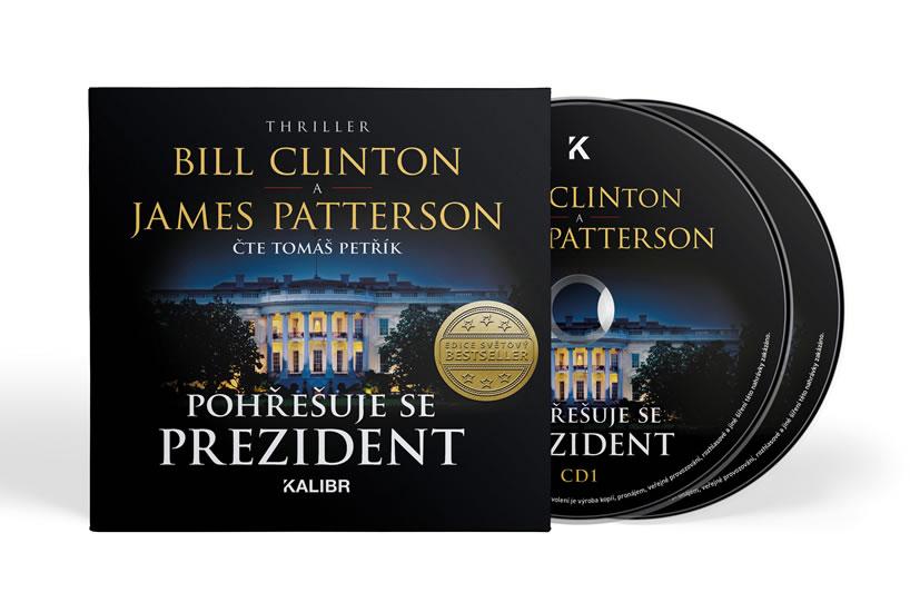 Pohřešuje se prezident - audioknihovna - Bill Clinton, James Patterson