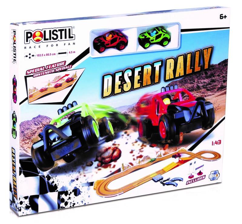 POLISTIL - Autodráha Desert Rally Slot Set