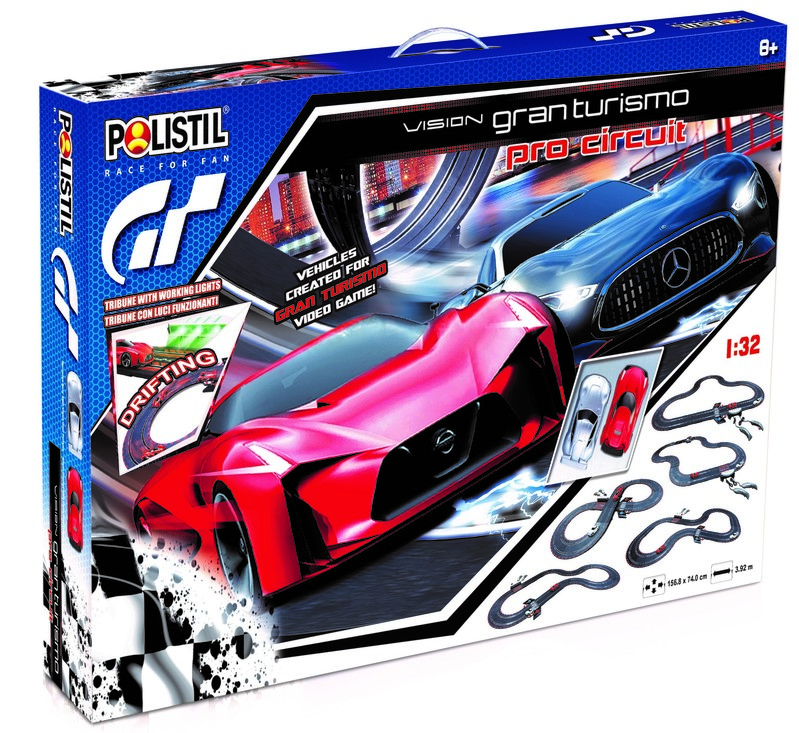 POLISTIL - Autodráha Vision Gran Turismo Pro Circuit 1:32