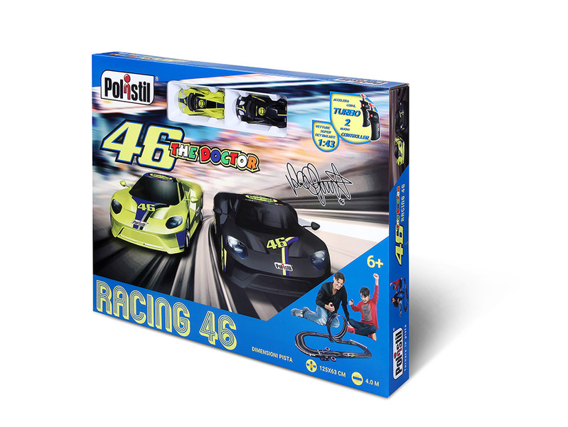 POLISTIL - Autodráha VR46 Super Looping set 1:43
