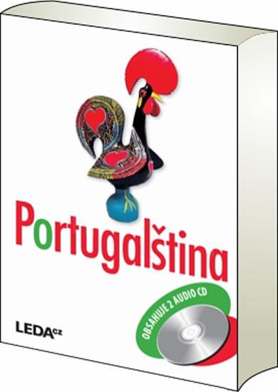 Portugalština + 2CD - 2. vydání - J. Jindrová ,L. Mlýnková ,E. Schalková