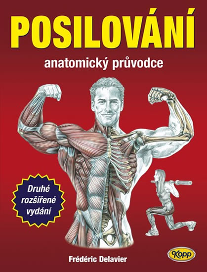 Posilování - anatomický průvodce - 2.vydání - Fréderic Delavier