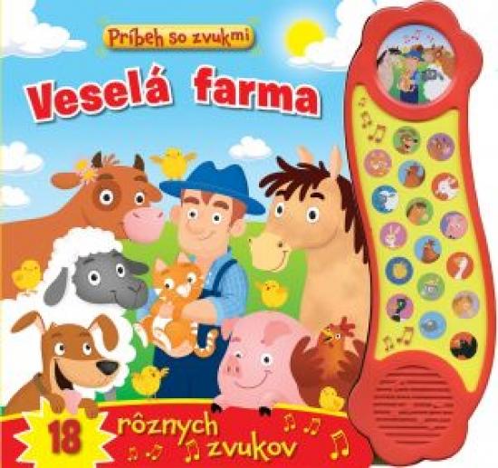Príbeh so zvukmi - Veselá farma 18 rôzn