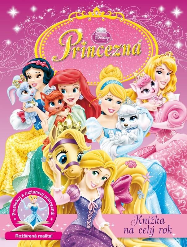Princezná - Knižka na celý rok - Walt Disney