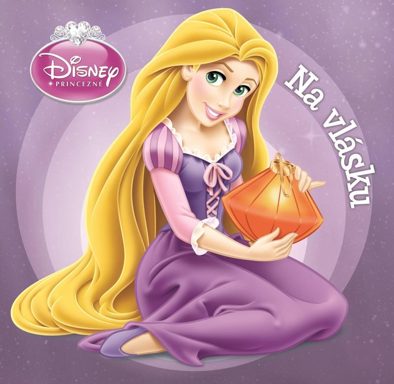 Princezná - Na vlásku - Walt Disney