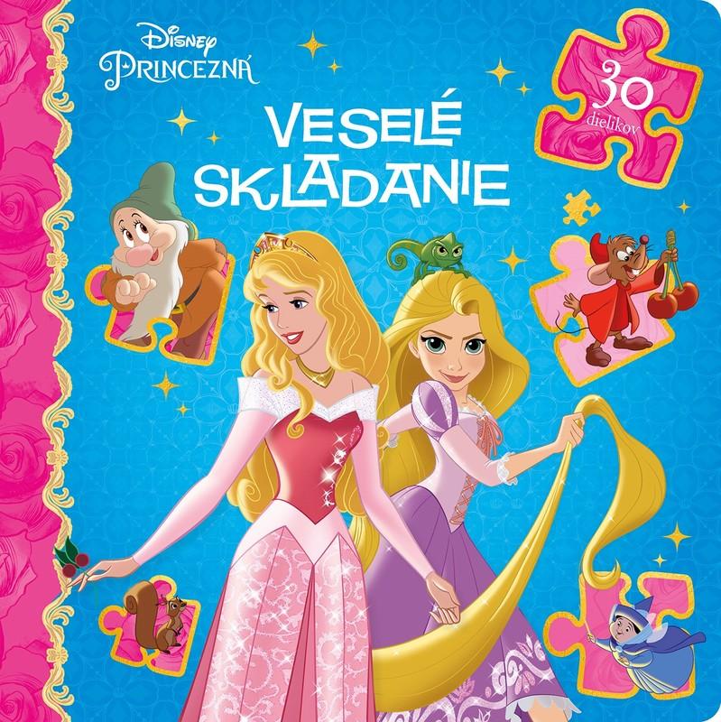 Princezná - Veselé skladanie - 30 dielikov