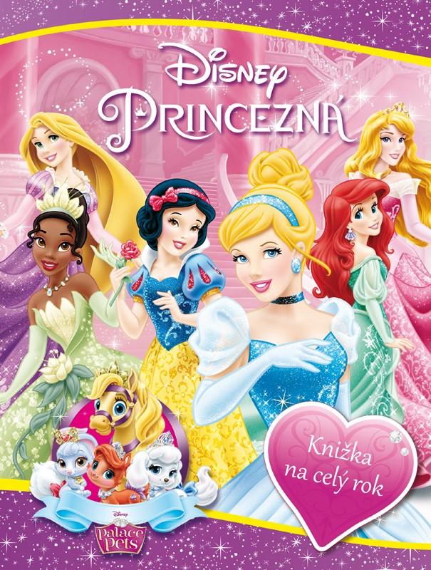 Princezná/Palace Pets - Knižka na celý rok - Walt Disney