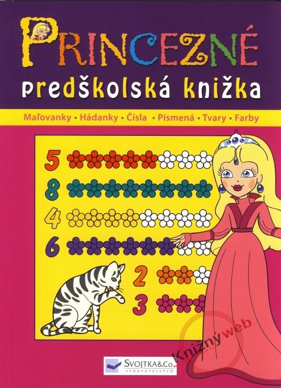 Princezné - predškolská knižka - Kolektív