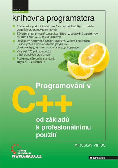 Programování v C++ od základů k profesionálnímu použití - Virius Miroslav