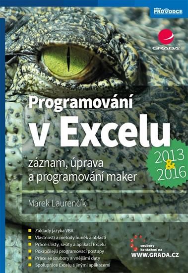 Programování v Excelu 2013 a 2016 - Záznam, úprava a programování maker - Marek Laurenčík