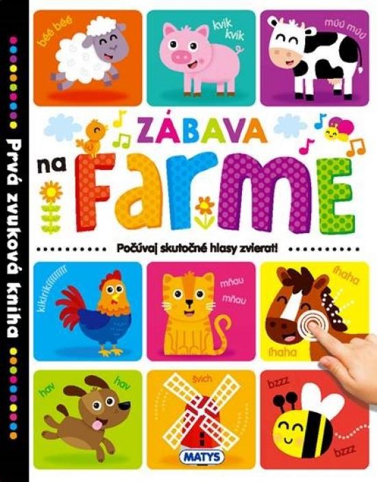 Prvá zvuková kniha – Zábava na farme