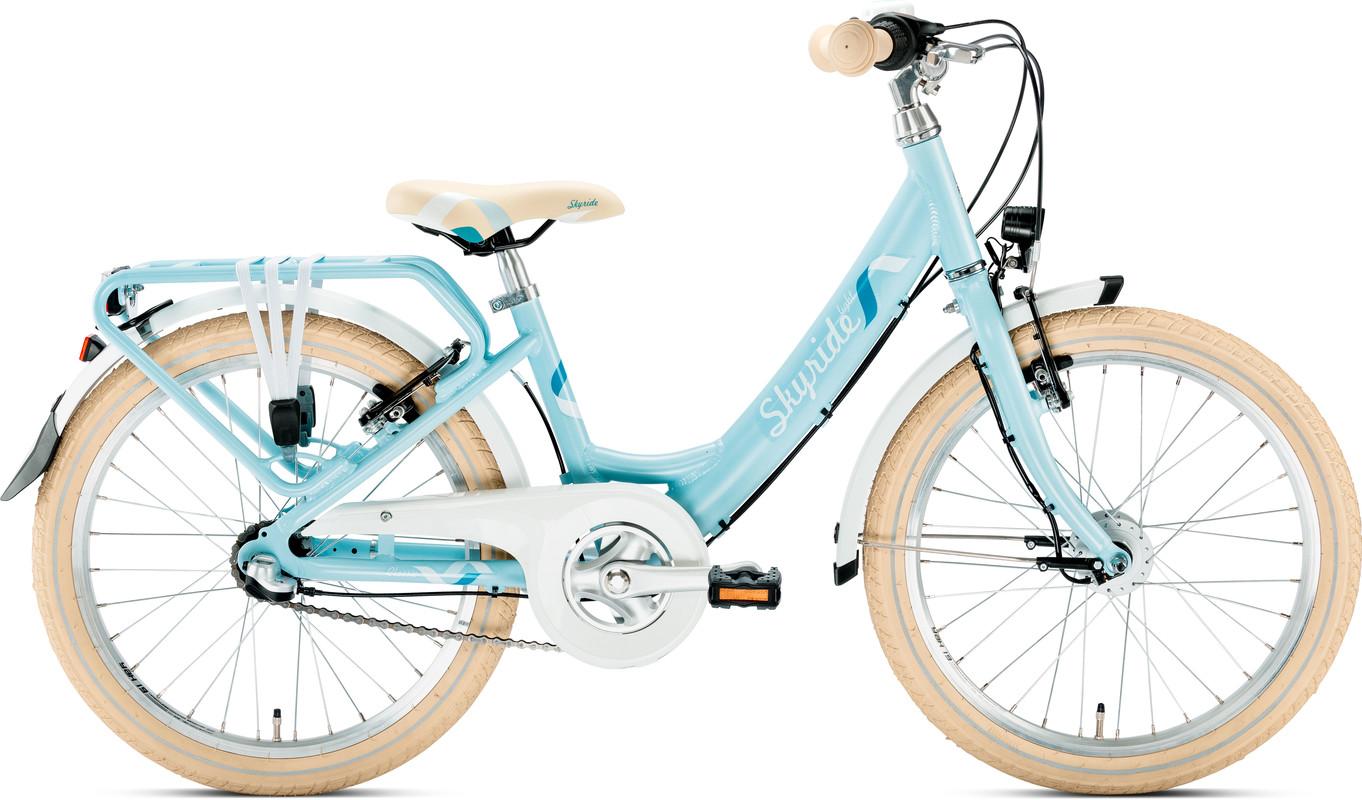 PUKY - detký bicykel SKYRIDE 20-3 Alu modrý 2019