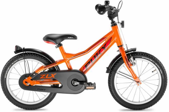 PUKY - detský bicykel ZLX 16-1 Alu - racing oranžová
